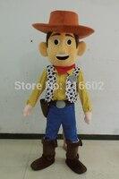 Высокое качество Прямая продажа с фабрики Вуди из «Истории игрушек» костюм для аниматора костюм мультфильм талисман взрослый размер беспл