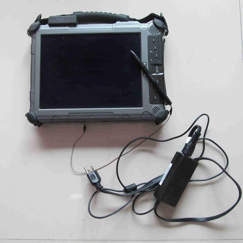 Dianostic ordinateur Xplore iX104 c5 i7, 4g Industrielle Robuste Tablet PC + 240 gb Mini SSD (ce pc travail pour sd c4 étoiles c3 icom a2)
