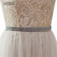 Damenmode Diamant Indien Seide Braut Abendgesellschaft Kleid Kleider Zubehör Hochzeit Schärpen Gürtel/Bund Braut Gürtel Sashe