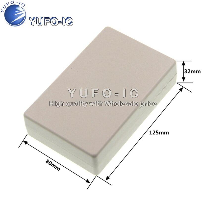 Пластиковый корпус коробка инструмента. Электропроводная коробка 125*80*32 (с винтами) 0,1 X|Интегральные схемы|   | АлиЭкспресс