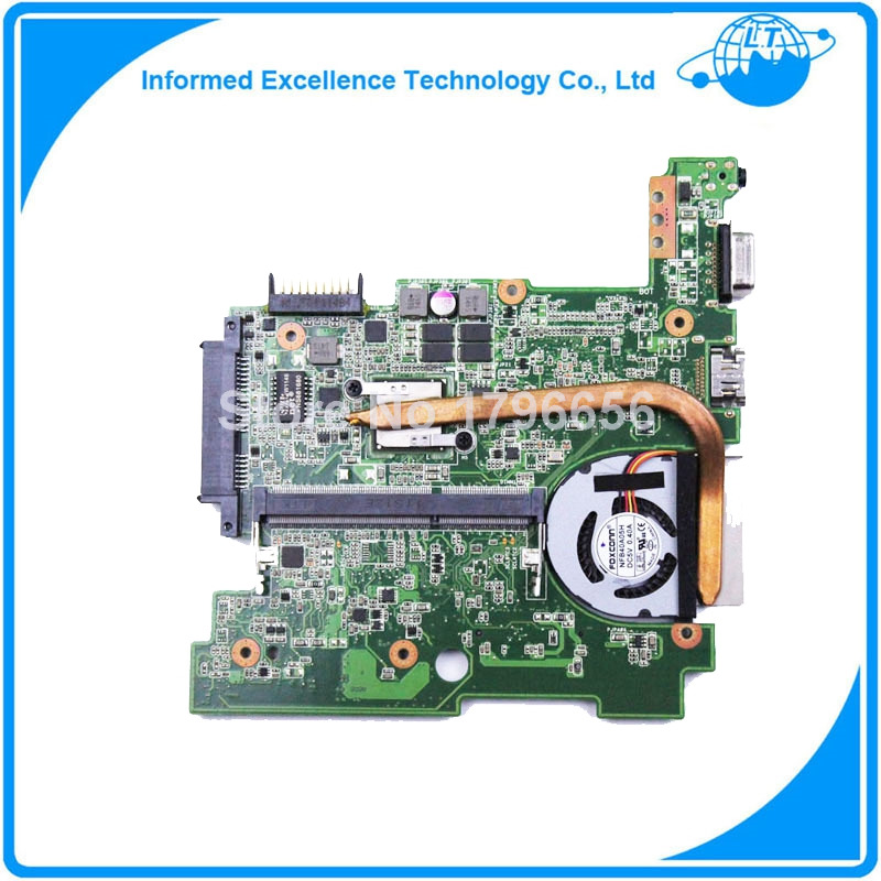 For Asus Eee PC 1015BX motherboard REV 1.1G fully tested free shipping 1015bx mainboard rev2 1g for asus eee pc 1015bx laptop motherboard 100% tested working fully tested
