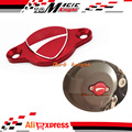 Motorcycle Accessories Alternator Red Cover Cap For DUCATI Diavel 2011-2015
