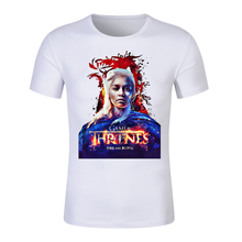 Game of thrones tshirt Daenerys Targaryen print t shirt women Jon Snow stark t-shirt casual Harajuku tees Tyrion Lannister tops game of thrones character model sansa stark tyrion lannister jaime lannister jon snow ghost action figure toys model toy