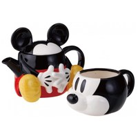 Funny Mickey ceramic teapot set Cartoon 1pot and 1cup with lid filter net coffee Mugs Christmas Gift Hot sale