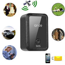 GF09 GSM Mini Car GPS Locator Tracker Gps Anti-Lost Recording Tracking Device Voice Control Can Record For Kids Cars