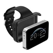 Tela grande Relógio Inteligente cartão 3g Rede Android Apoio TF Cartão de Registro de Condução de Monitoramento Sono Rastreador Esporte Homens Watchphone