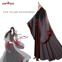 UWOWO Вэй Wuxian Yiling патриарх Косплей Grandmaster Demonic культивирование костюм Вэй Wuxian Mo Dao Zu Shi костюм мужчины