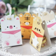 new 50pcs lollipop cover dog tiger cat animal design children birthday wedding party candy decorate holiday Christmas use