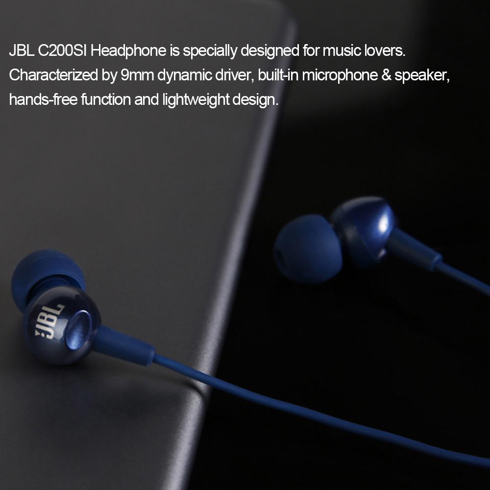 JBL C200SI in-Ear Headphones 3