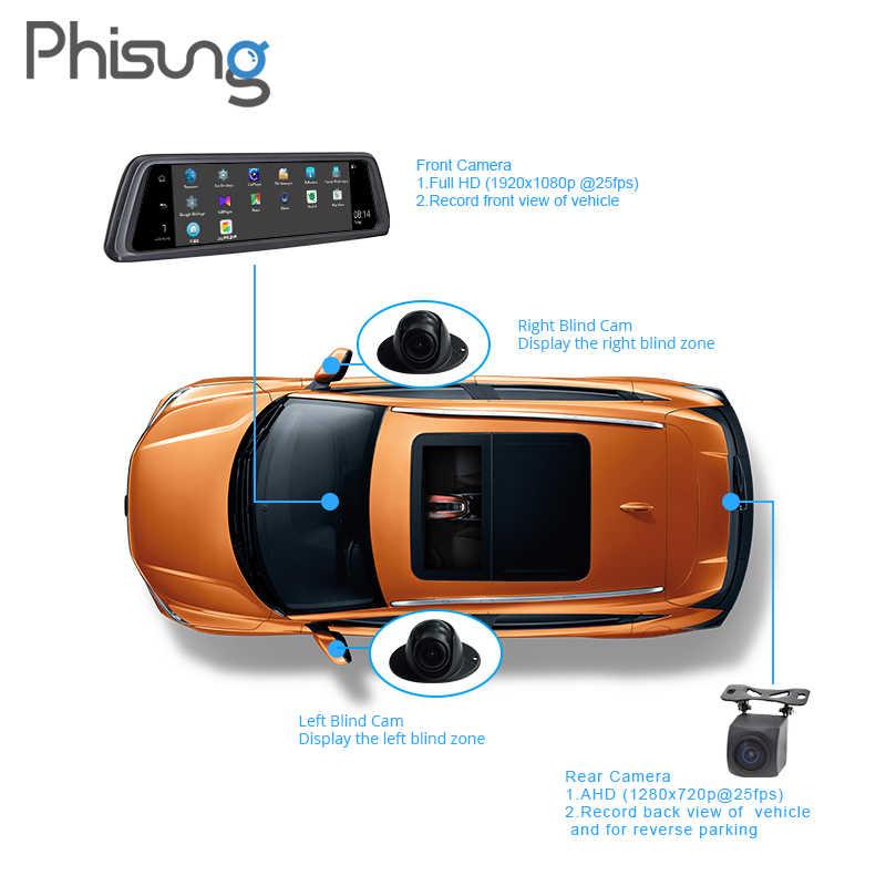 Phisung V9 Plus 4CH Cameras lens 10