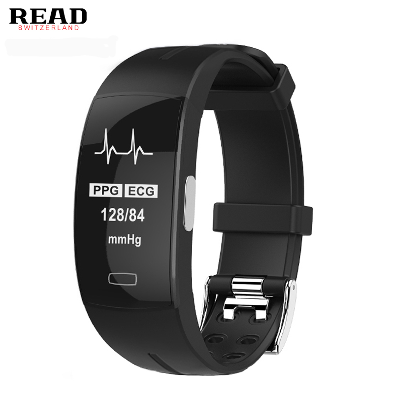 READ R66 blood pressure band heart rate monitor PPG ECG smart bracelet Activit fitness tracker Watch intelligent wristband