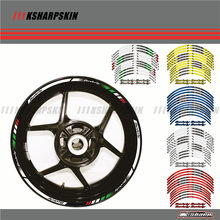 12 X Borda Grossa Exterior Aro Adesivo Stripe Roda Decalques FIT todos 16''14'' Piaggio beverly 125 250 350 500