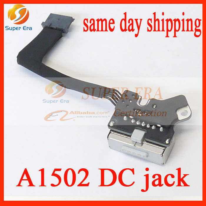 Original New perfect DC Jack Power Board for Apple Macbook Pro 13 Retina A1502 Power DC-IN Jack 820-3584-A 2013 2014 2015 Year lmdtk new laptop battery for apple retina me293 me294 a1494 a1398 2013 2014 year