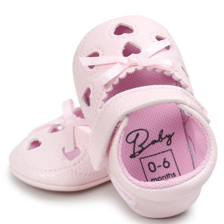 Baby Boys Kids First Walkers Shoes Baby Girl Hollow Out Shoe Casual Shoes Sneaker Anti-slip Soft Prewalker Shoes