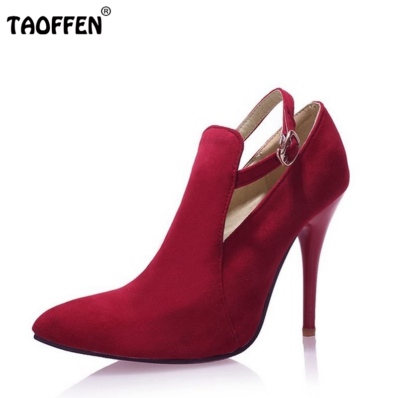ladies high heel pumps shoes sexy spring quality footwear fashion thin heels pointed toe ankle strap shoes size 31-43 P22621 fashion women ladies pumps solid color spring summer pointed toe thin heel shoes new arrival high quality brand slip on pumps