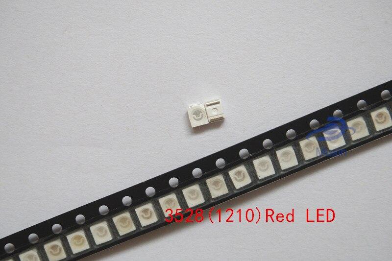 100Pcs 1210 3528 SMD LED Chip Pink Bright Light Lamp SMT Diodes Emitting Bulds
