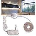 Светодиодная подсветка для шкафа с датчиком движения, светодиодная лента для шкафа, 12 В, водонепроницаемая лампа для шкафа, кровати, 220 ЕС, ис...