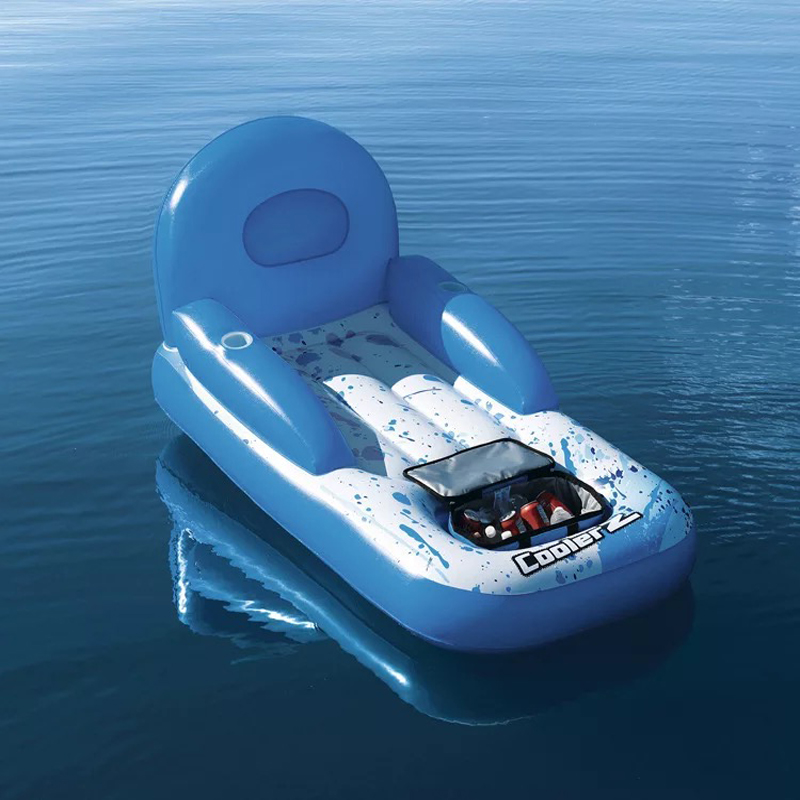Swimming pool inflatable boat floating adult swimming floating row summer rest water toys and water pumps intex pacific paradise lounge marine intex 58286 chaise lounge water floating row floating bed water