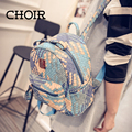 CHOIR Latest fashion women leather backpack,feminine infant backpack,school weave backpack for girls,children small backpacks