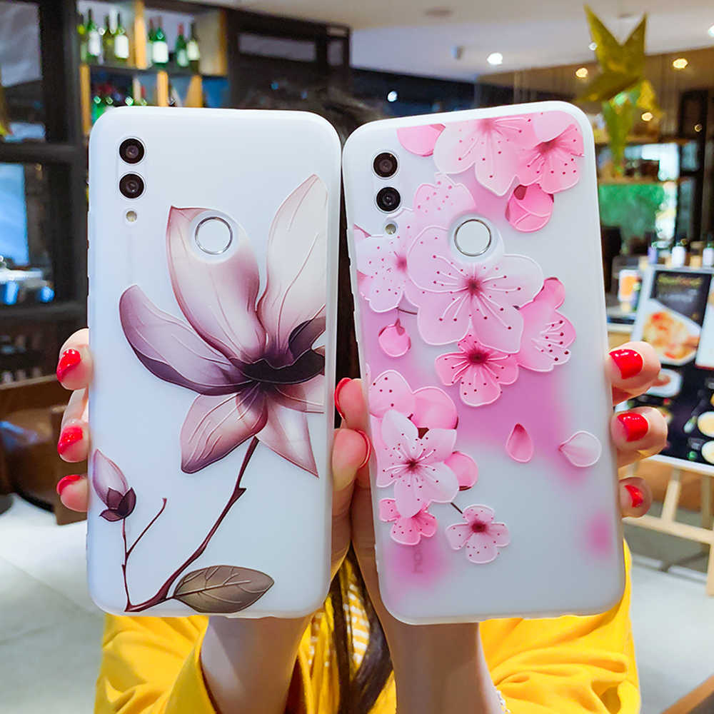 Fall Für Huawei P30 P20 P10 P9 P8 Mate 20 10 Lite Pro P Smart 2019 Ehre 9 10 Lite 6X 7X Nova 2i Plus 3E 3D Relief TPU Abdeckung