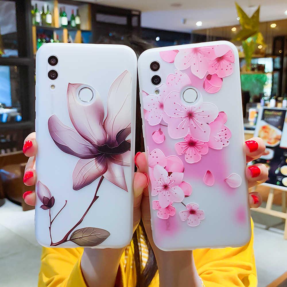 Trường hợp Đối Với Huawei P30 P20 P10 P9 P8 Người Bạn Đời 20 10 Lite Pro P Thông Minh 2019 Honor 9 10 Lite 6X 7X Nova 2i Cộng Với 3E 3D Cứu Trợ TPU Bìa