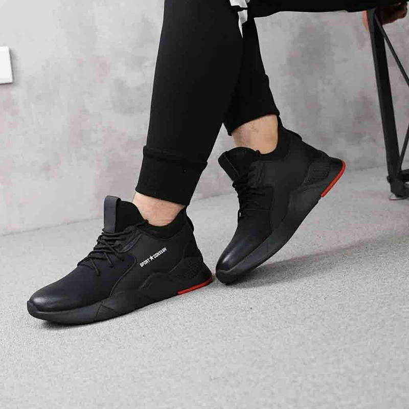 New 1 Pair Heavy Duty Sneaker Safety Work Shoes Breathable Anti-slip Puncture Proof For Men XD88