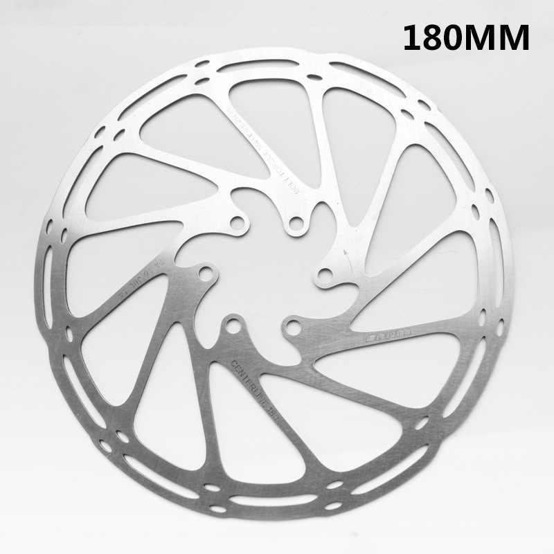 Mountainbike Schijfremrotor Rvs Middellijn 160 Mm 180 Mm 203 Mm Met 6 Bouten Mtb Remschijf rotors Voor Sram Shimano