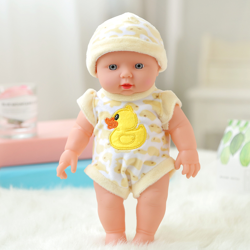 Hot Sale High Quality Baby doll Rotomolded PVC dolls baby bath toy belt water dolls Lifelike Fashion Baby Doll Toy