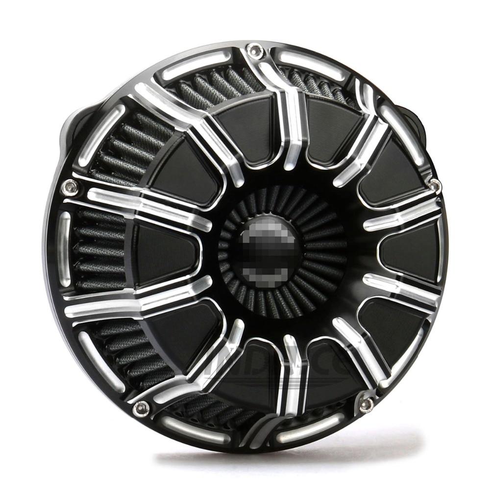 Motorcycle CNC Crafts Air Cleaner Intake Filter Fit For Harley Sportster 883 1200 72 48 2004-2015 harley sportster air filter