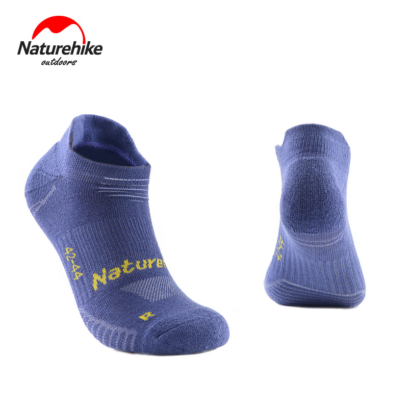 Naturehike 3 Pairs Sports Socks Professional Running Socks Breathable Men Women Camping Hiking Gym Socks Quick-drying