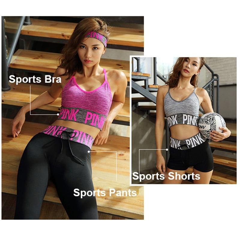 PINK-Women-Yoga-Sets-Sports-Bra-Yoga-Pants-Shorts-Fitness-Clothing-Sportwear-Women-Yoga-Suit-Sports