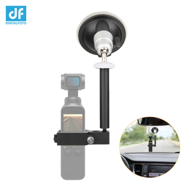 DJI OSMO Pocket Handheld Gimbal Expansion Accessories OSMO Pocket Mount Bracket for Car Sucker 4K video