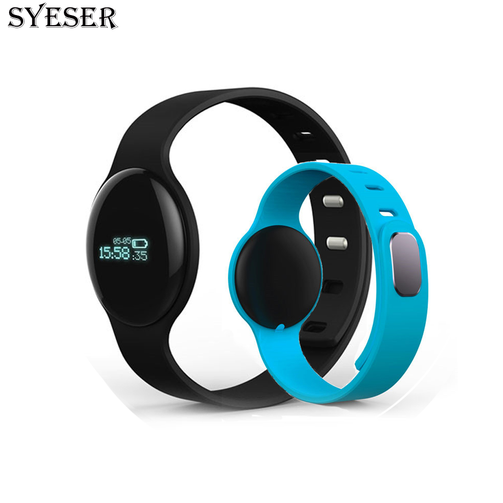 SYESER H8 Smart Band Fitness Tracker Bracelet Sport Wristband pedometer Smartband smartwatch for font b Android