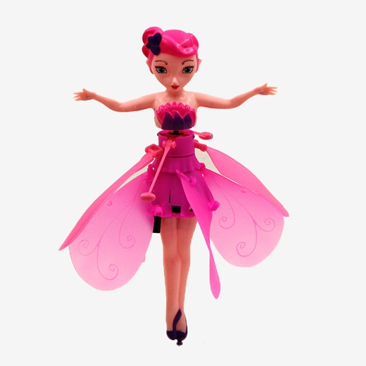 Ice Snow Hot Sale Fly Fairy Princess Induction Fly Toys Remote Control RC Helicopter Flying Quadcopter Drone Kids Toy Best Gifts