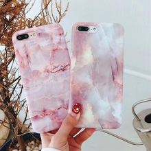 Marble Style Glossy Case for iPhone