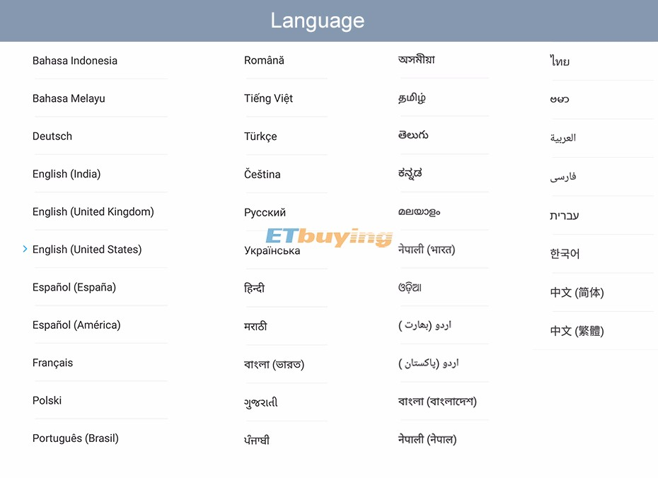 official global xiaomi rom language-duetch