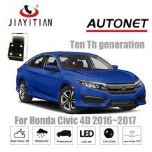 Câmera Do Carro para Honda Civic 4D JIAYITIAN 2016 ~ 2018 Décima geração de backup camera/CCD/Night Vision/câmera de visão traseira/câmera de segurança