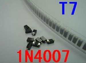 100pc SMD Diode BAV21W SOD-123 Package Silk Screen T3 1206