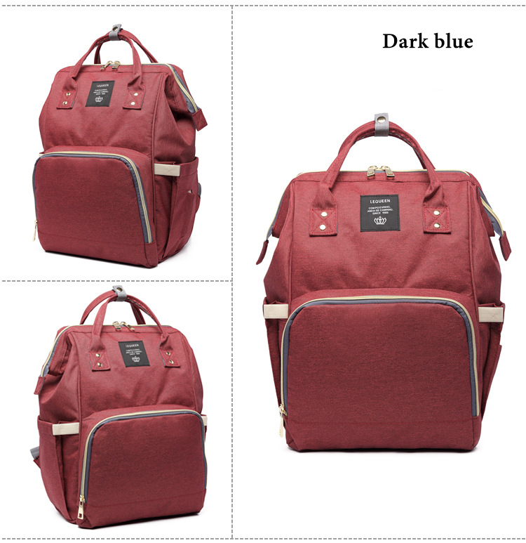 HTB184aaXdzJ8KJjSspkq6zF7VXaE Fashion Brand Large Capacity Baby Bag Travel Backpack Designer Nursing Bag for Baby Mom Backpack Women Carry Care Bags