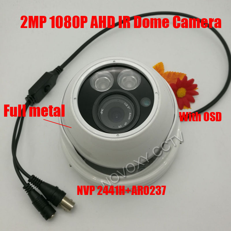 free shipping 1080p Full metal HD Surveillance CCTV Camera 2MP AHD Camera 1080P Security IR 20M Nightvision Work For AHD DVR набор сковородок berlinger haus forest line с антипригарным покрытием цвет черный 3 шт 1724 bh