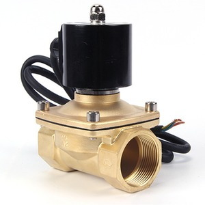 Image 2 - 220VAC 24VDC עמיד למים IP דירוג 68 מזרקה מתחת למים בדרך כלל סגור סולנואיד שסתום, DN15/DN20/DN25/DN32/DN40/DN50