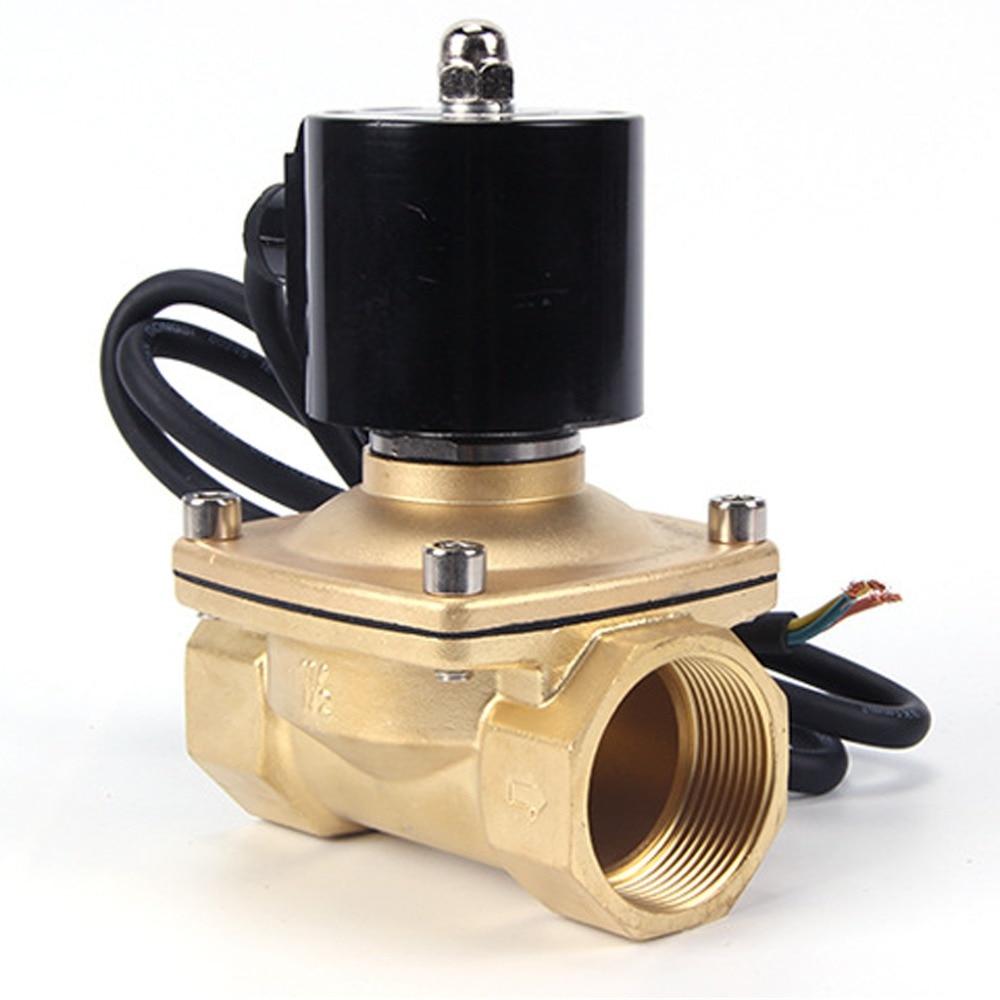 Image 2 - 220VAC 24VDC Waterproof IP rating 68 Fountain underwater normally closed solenoid valve,DN15/DN20/DN25/DN32/DN40/DN50Valve   -