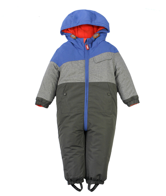 d0f328191 Baby Outerwear Warm Skiing Rompers Thickened Kid Ski Jacket Boys ...