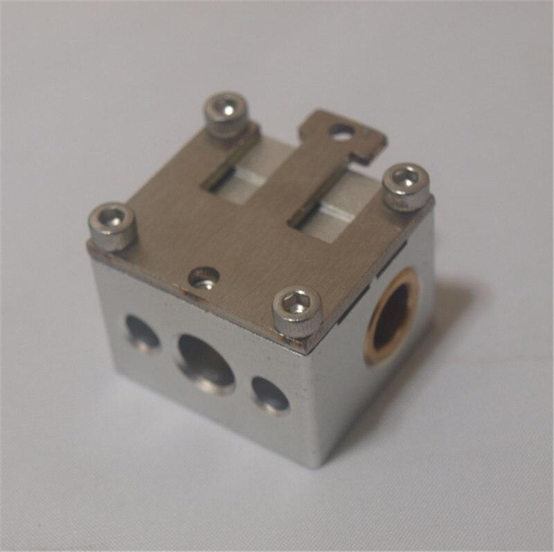 Funssor 4pcs aluminum alloy slide block for 8mm smooth rod timing belt tension guide slider block