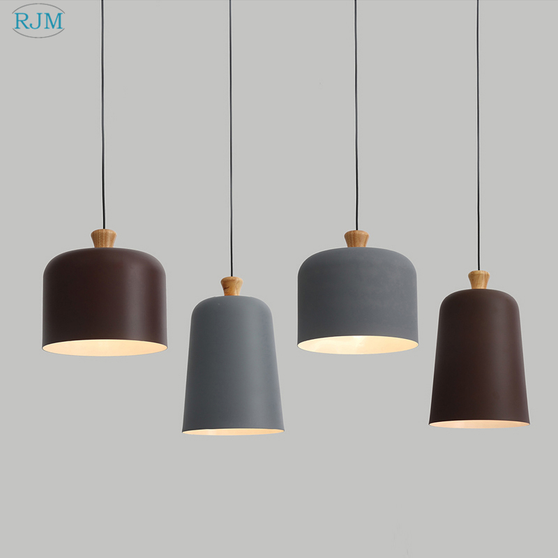 Lights & Lighting Modern Led Luminaires Wooden Chandelier Loft Lighting Novelty Fixtures Nordic Hanging Lights Living Room Pendant Lamps