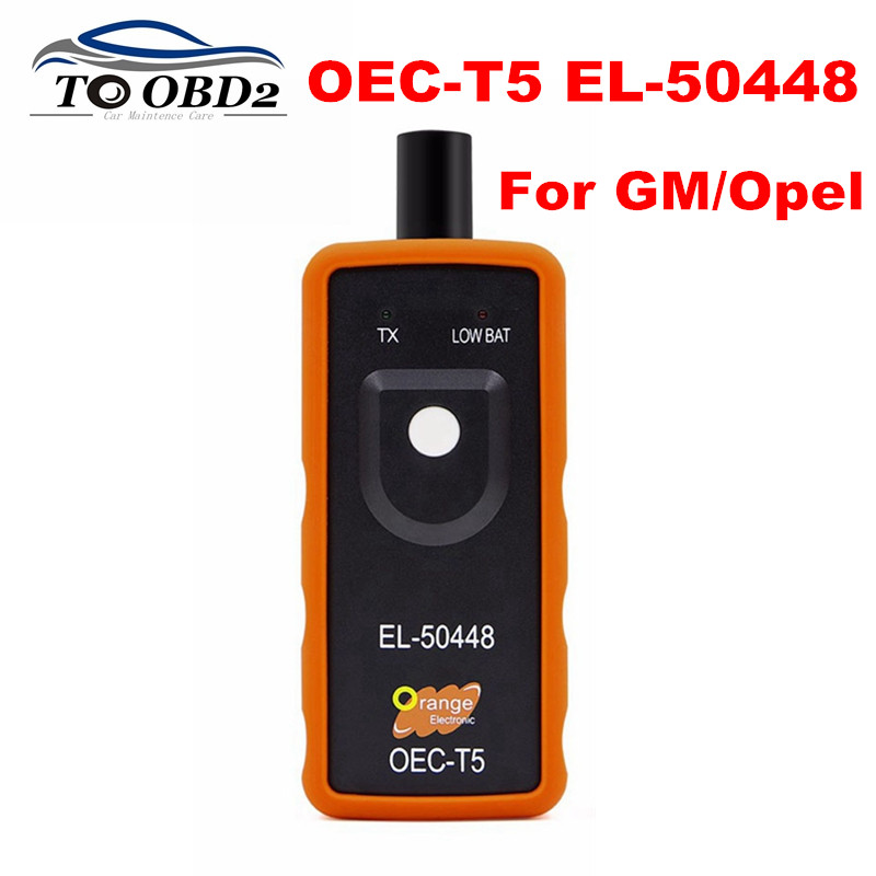 Para GM/Opel Auto TPMS Ferramenta De Redefinição OEC-T5 EL50448 EL 50448 Automotive Sensor de Monitor De Pressão Dos Pneus Ferramenta Para GM veículo de série
