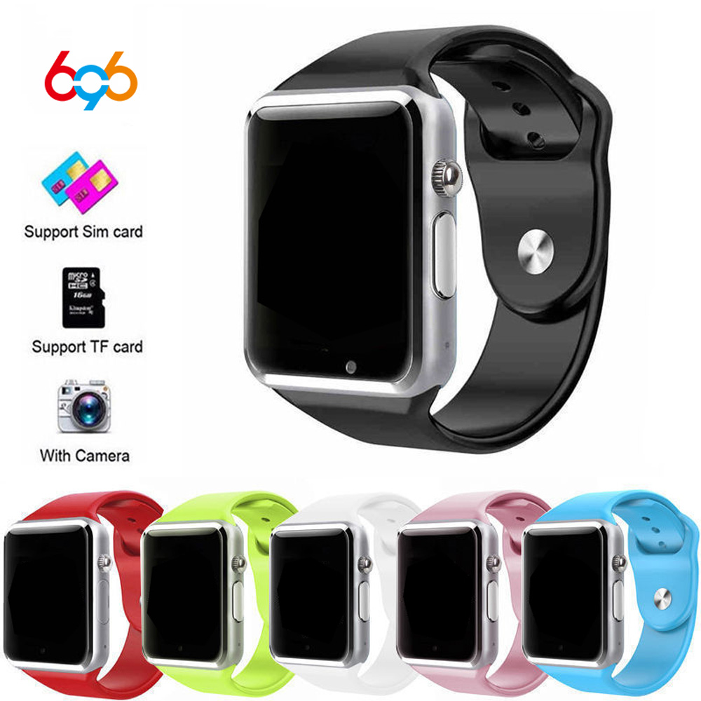 696 Bluetooth A1 Smart Watch Sports Tracker Men Women Smartwatch IP67 Waterproof A1 Watches For Android IOS Support SIM TF Card