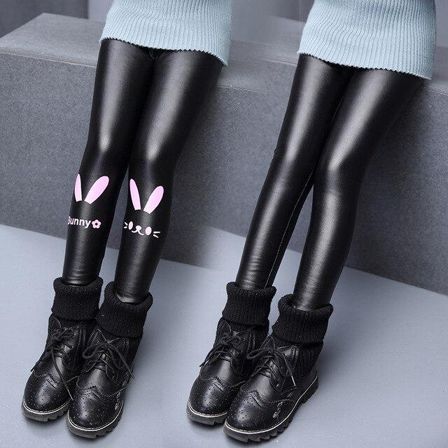 Baby Girls Winter Leggings Kids Girl Spring Warm Thick Mid Elastic Skinny Full