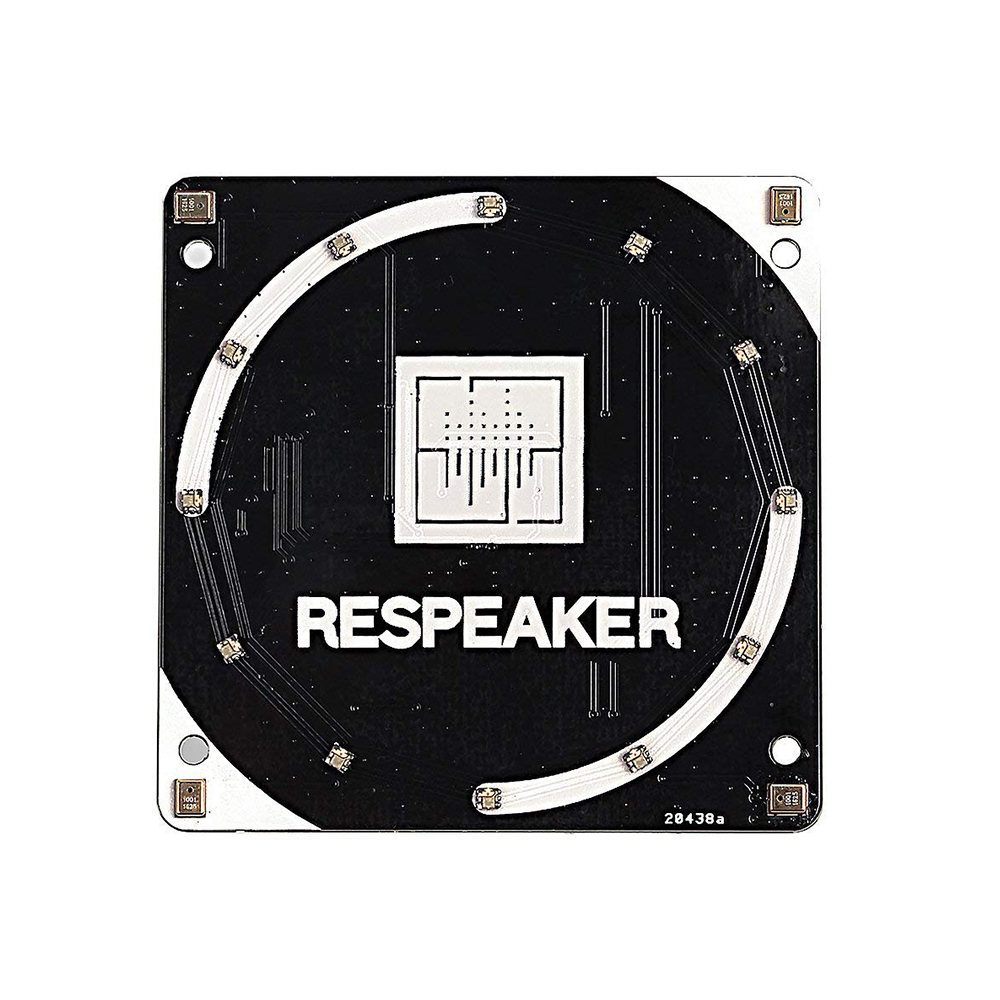 ReSpeaker 4-Mic Array For Raspberry Pi,is A Quad-microphone Expansion Board