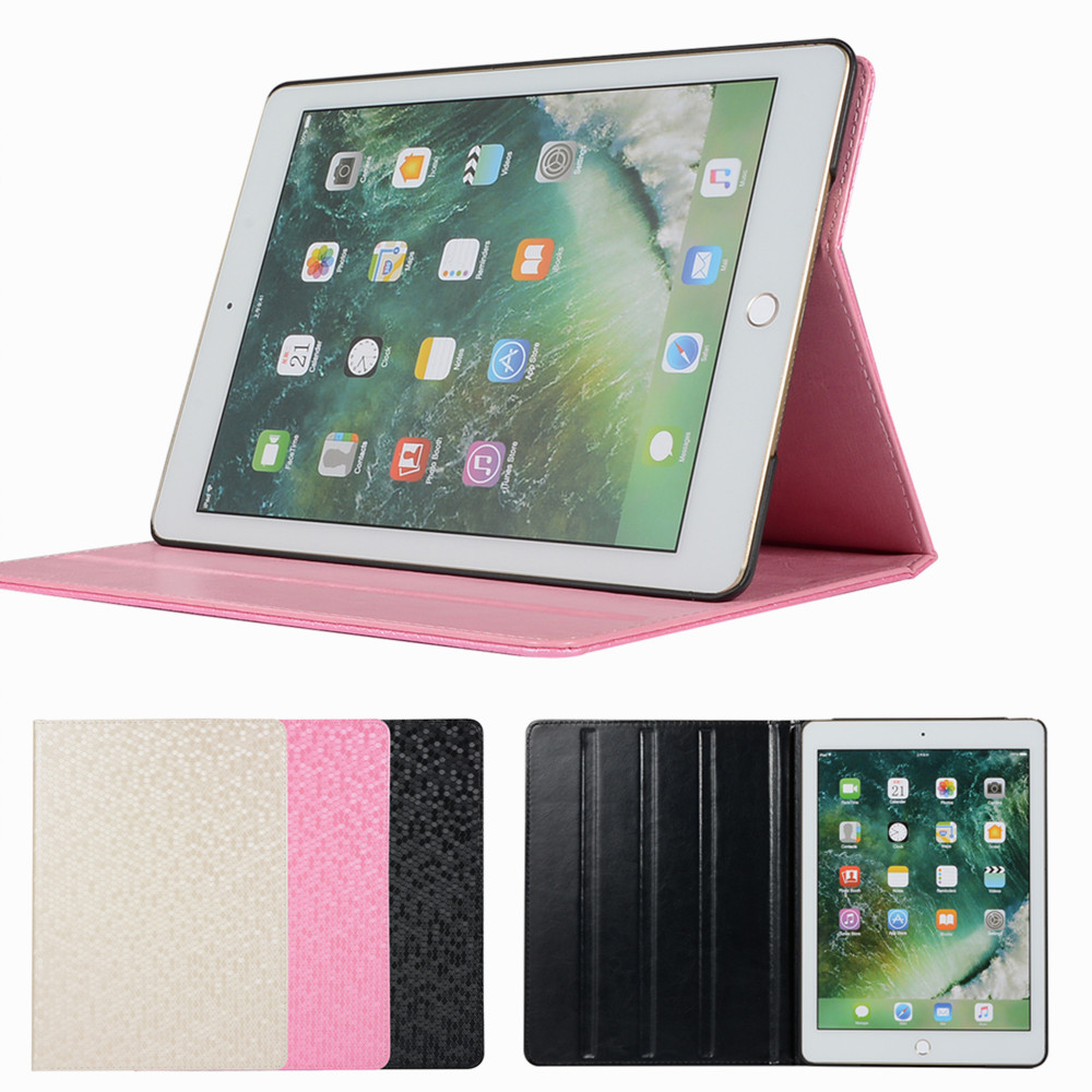 Bling Leather Case For Ipad Air 1 2 Cover Tablet Stand Cases For Ipad 5 6 Protective Shell 9.7 Inch